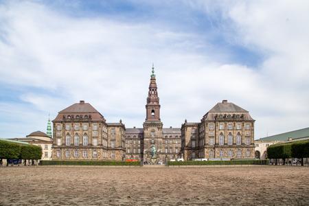 Christiansborg Palace in Copenhagen, Denmark