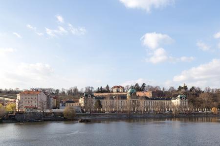 Straka Academy in Prague Stock Photo