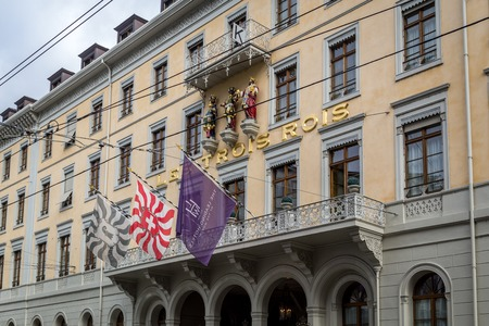 Les Trois Rois Hotel in Basel