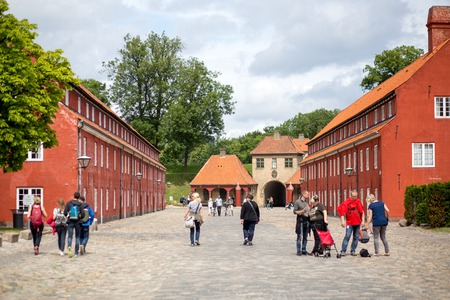 Fortress Kastellet in Copenhagen, Denmark