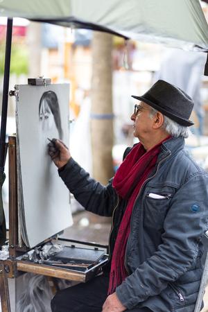 Painter in Montmartre, Paris