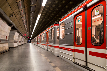 Metro Station in Prague