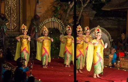 Traditional Balinese Legong and Barong dance
