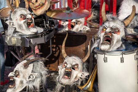 Carnival in Basel, Switzerland Editorial