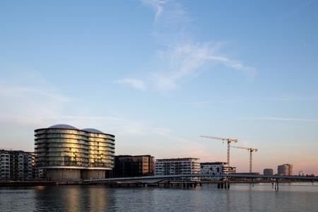 Havneholmen district in Copenhagen Stock Photo