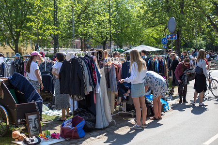 Flea Market in Copenhagen
