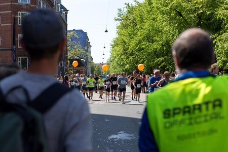Runners at Copenhagen Marathon 2018