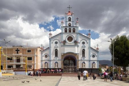 Church Soledad in Huaraz, Peru
