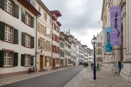Basel Historic City Centre Editorial