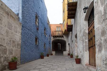 Houses in Arequipa, Peru