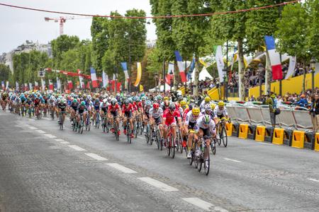 Tour de France 2017 Champs-Elysees