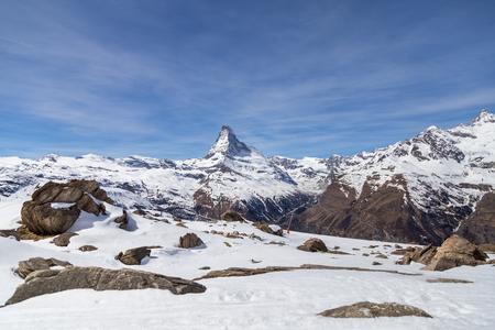 Matterhorn Winter Landscape