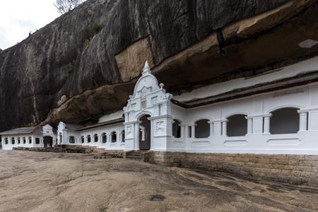 Dambulla Cave Temple, Sri Lanka Stock Photo