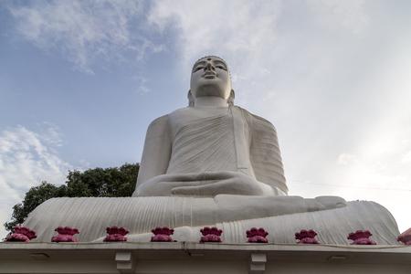 Bahirawakanda Vihara Buddha Statue in Kandy, Sri Lanka