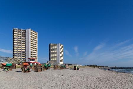 South Beach on Fehmarn, Germany Editorial