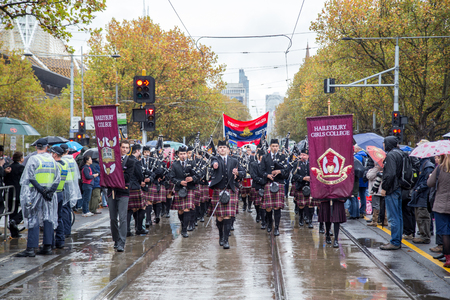 ANZAC Day Rememberance Parade in Melbourne 2015