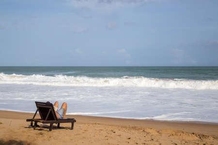 Beach Chair Relax in Sri Lanka
