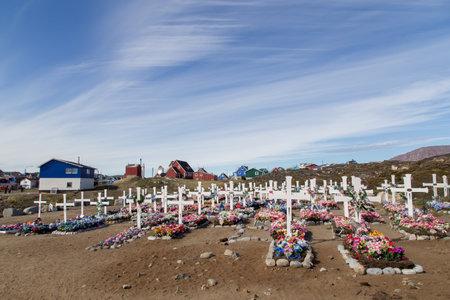 Traditional Greenlandic Cemetery