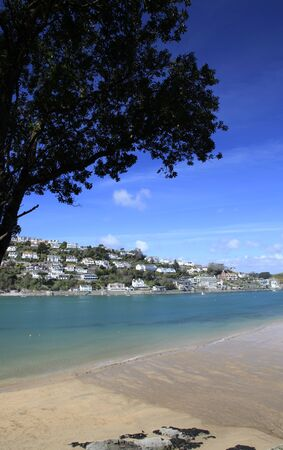 View down salcombe estuary from east portlemouth