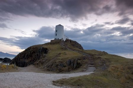 light house: casa isola llandwyn luce in Galles a nord-ovest