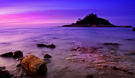 Funky St Michaels Mount photo