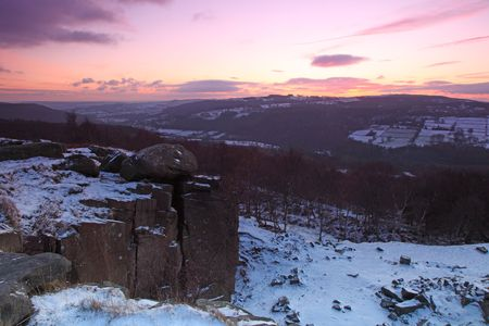 Sunset Peak District