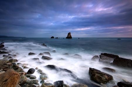Twilight at Mupe bay Stock Photo - 11993217