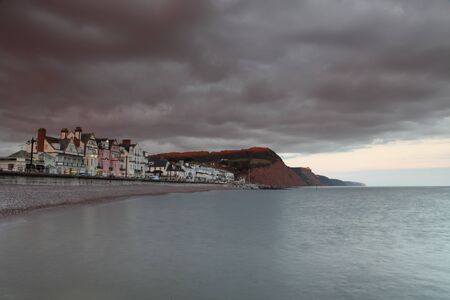 Stormy Sidmouth photo