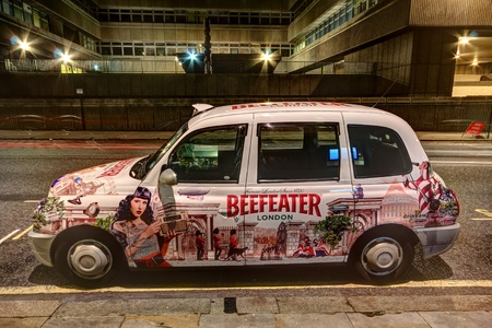 beefeater: London Taxi Cab