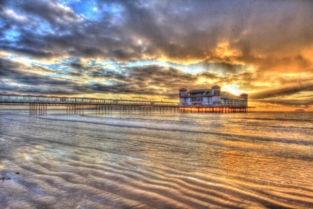 weston super mare: Weston Super Mare pier