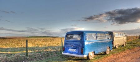 vw: Classic vw camper vans