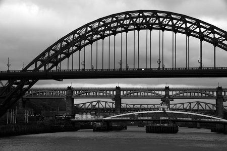 Bridges over the river tyne in gateshead newcastle