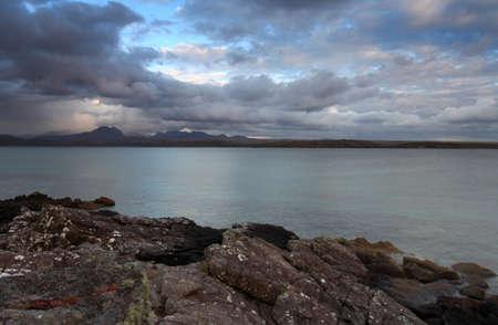 Gailoch peninsular over looking Ben Eighe Mountain Range