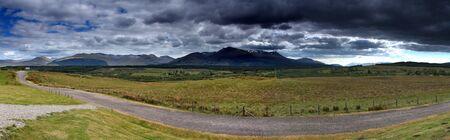 mountin: Ben Nevis Mountin Range in Scotland, the tallest mountain in the UK