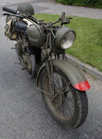 British Classic world war 2 motorcycle