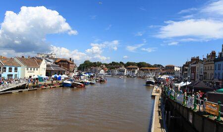 cuisine entertainment: Sea food festival at Wemouth Quey Dorset UK  Editorial