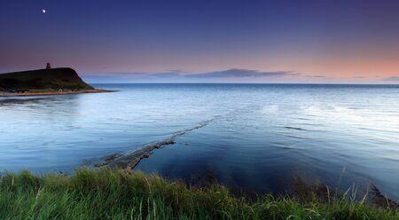 Kimmridge Bay at dusk photo