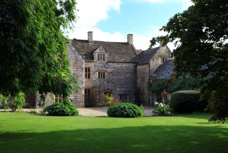 Anglia tradycyjny dwór w Dorset Cerne Abbas angielskiej wsi