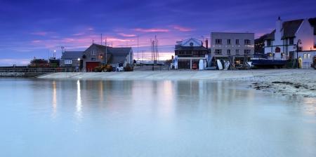 lyme: Fishing village of Lyme Regis in Dorset, South West  England