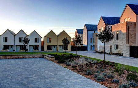 dorset: Sustainable housing on Portland in Dorset England