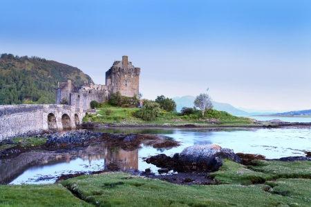 Eilan Donan in the Scottish highlands the setting of the film highlander