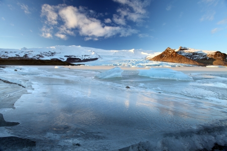 vatnajokull glacier Iceland photo