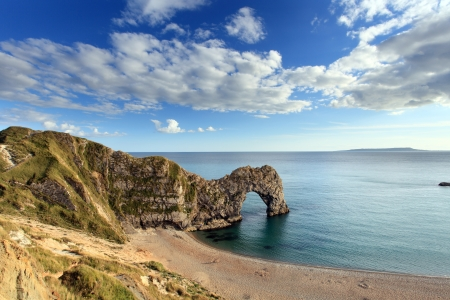 Durdle Door Dorset England Stock Photo
