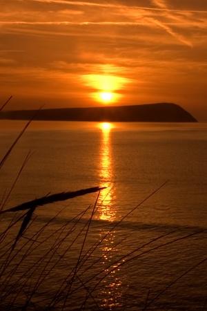 Sunset Wales