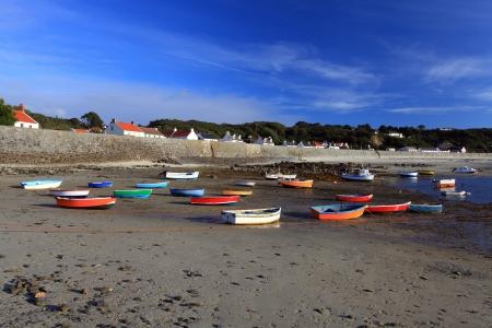 guernsey: Rocquain Bay Channel Islands United kingdom Guernsey