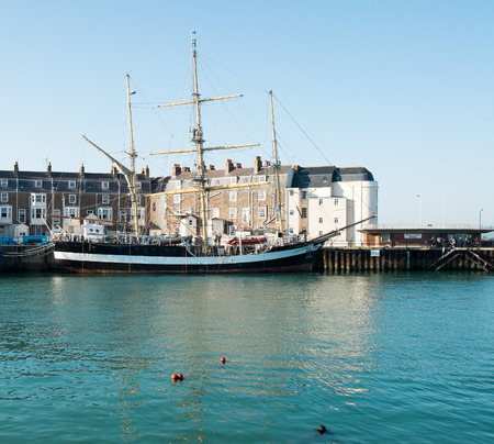 Weymouth quay and town harbour