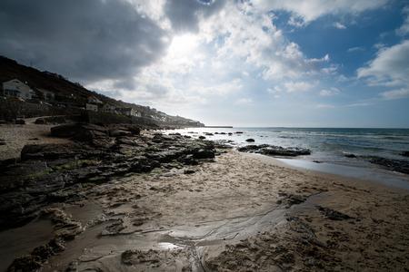 sennen: Sennen Cove Cornwall Stock Photo
