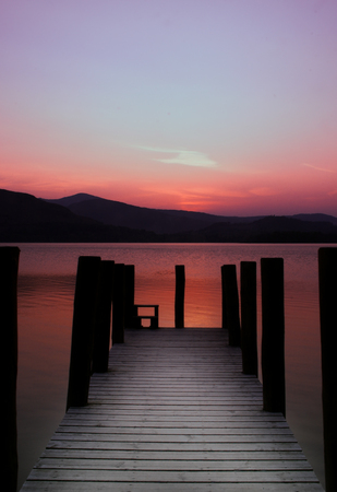 timeless: Timeless jetty on the lake