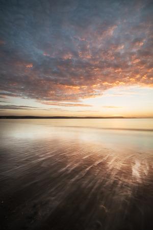dorset: Weymouth beach sunrise Dorset England