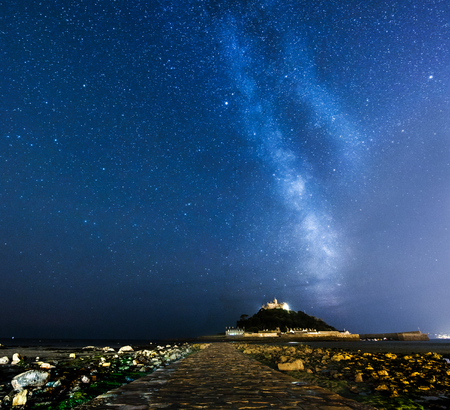 astrophotography: st michaels mount astrophotography